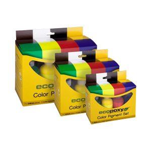 Ecopoxy Pigment Package Range