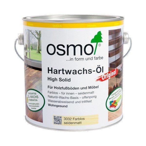 Osmo Hartwahs Original farblosseidenmatt 2,5 Liter
